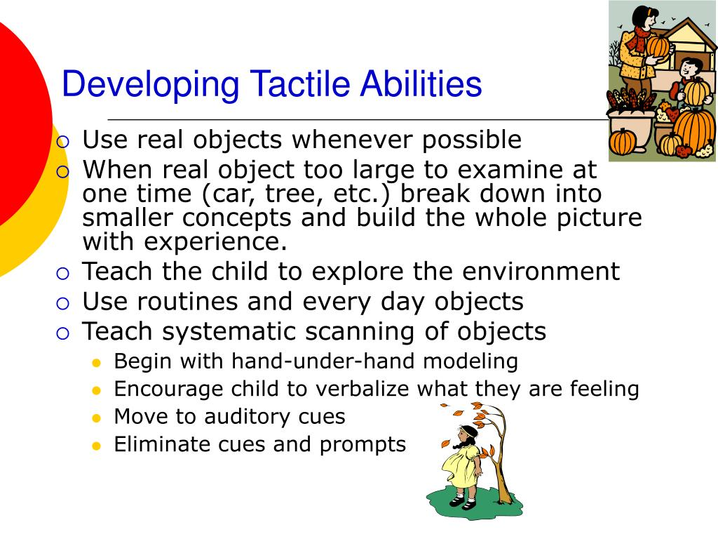 Developing Tactile Abilities