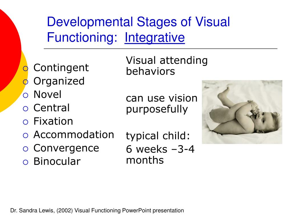 Visual attending behaviors