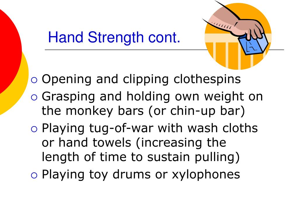 Hand Strength cont.