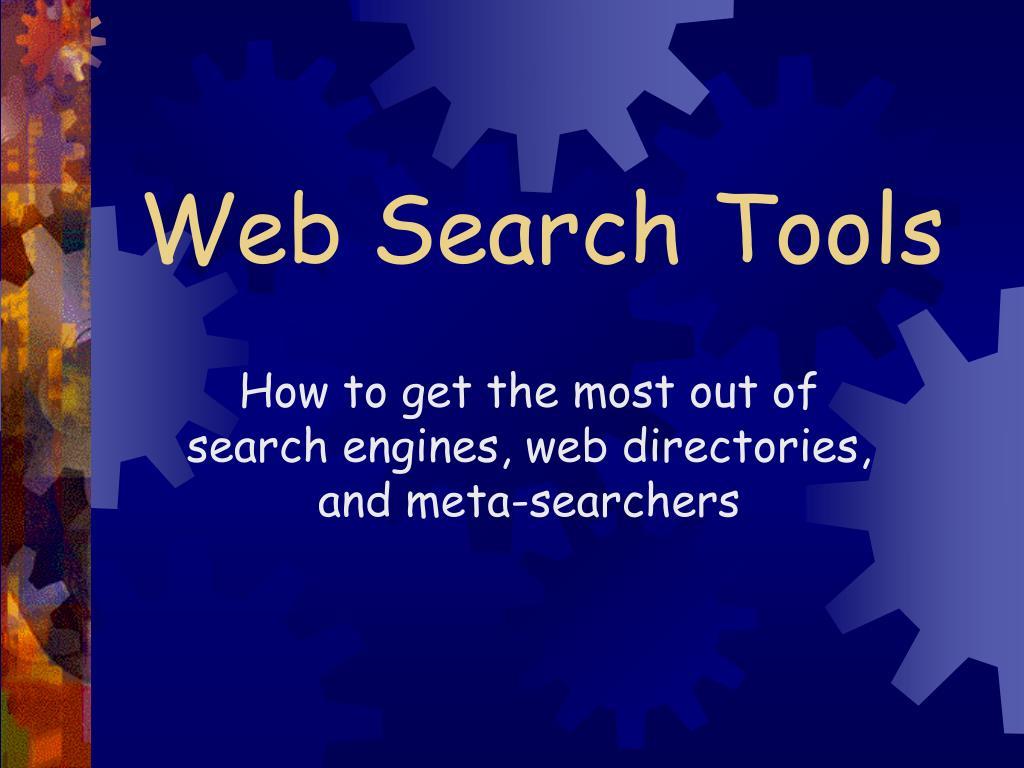 web search tools l.