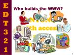 who builds the www