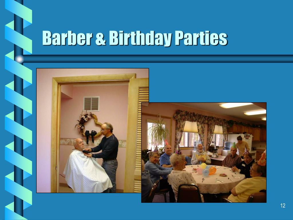 Barber & Birthday Parties