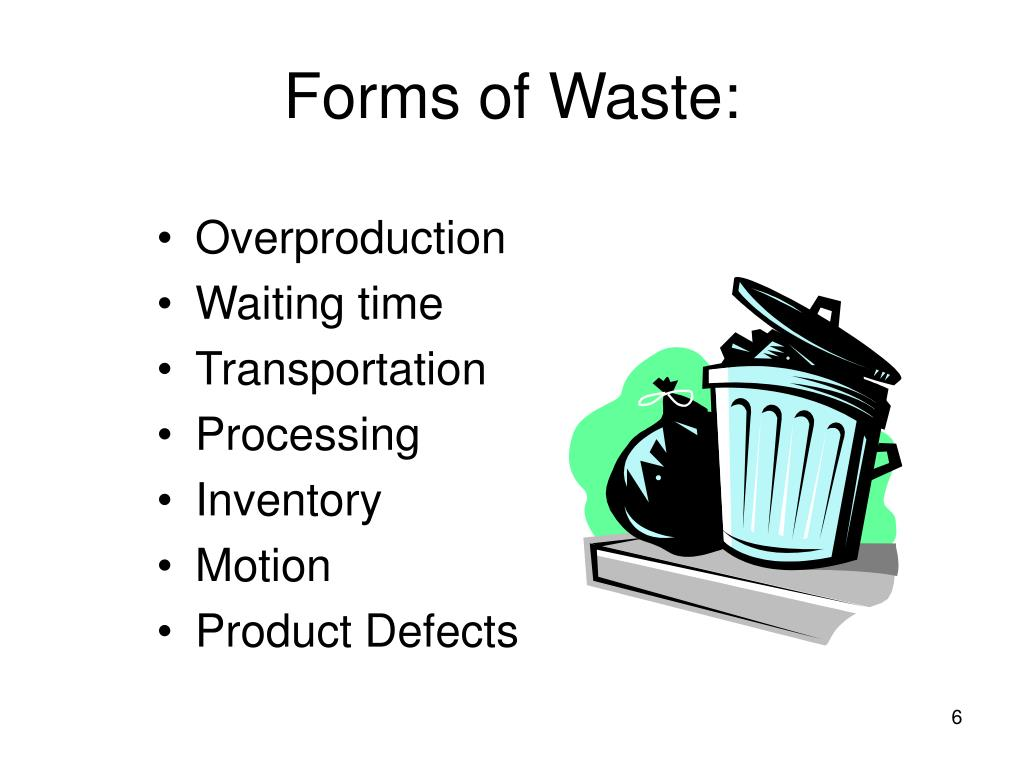 Forms of Waste: