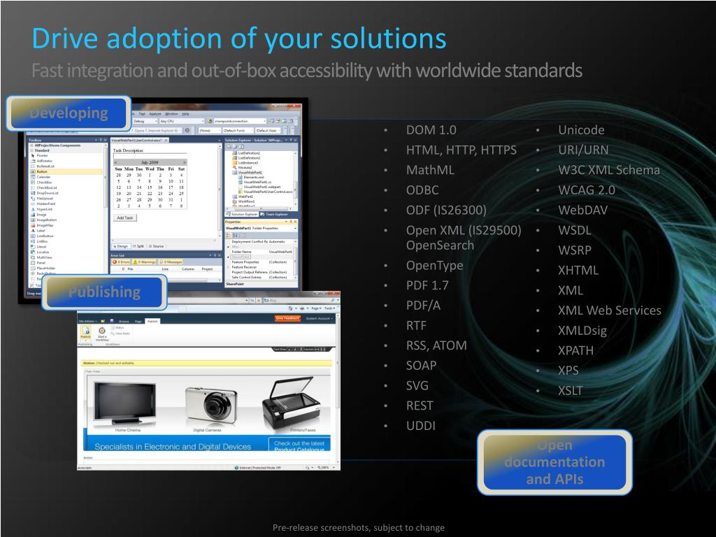 Drive adoption of your solutions
