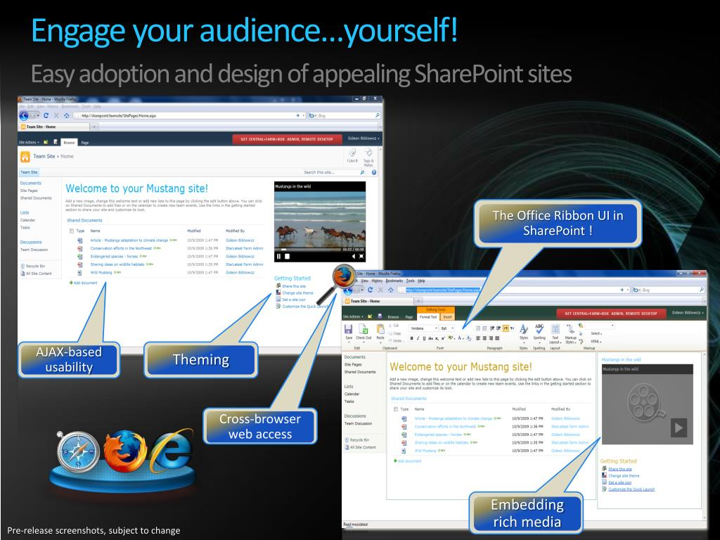 Engage your audience…yourself!