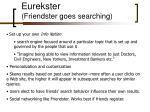 eurekster friendster goes searching