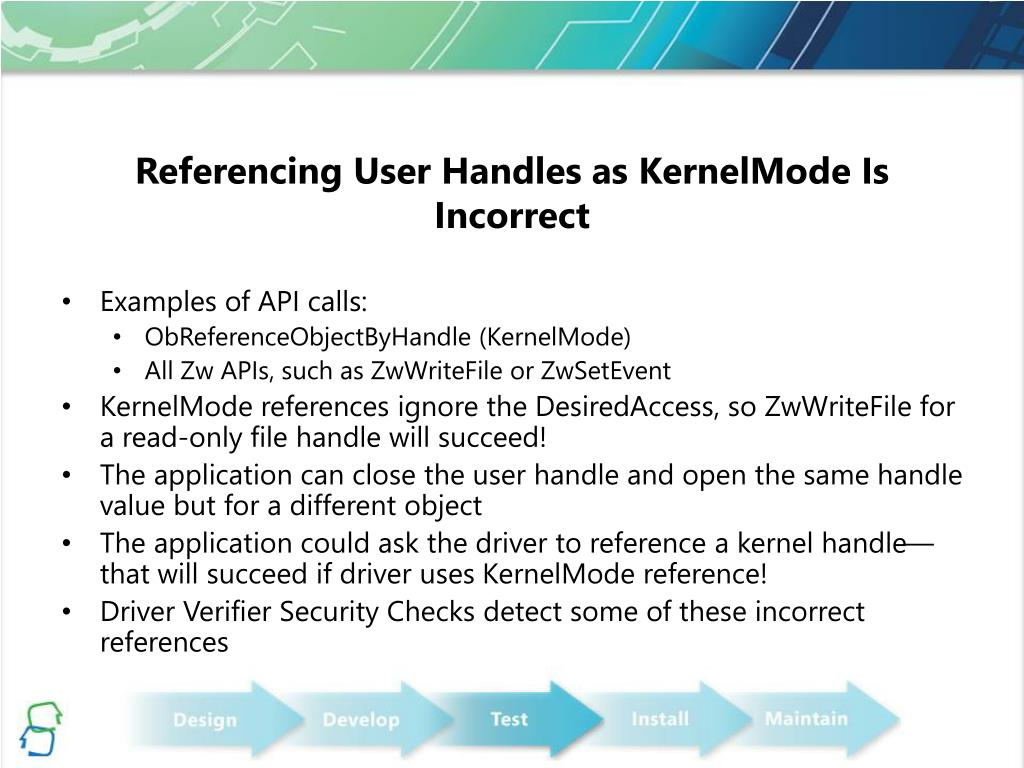 Referencing User Handles as