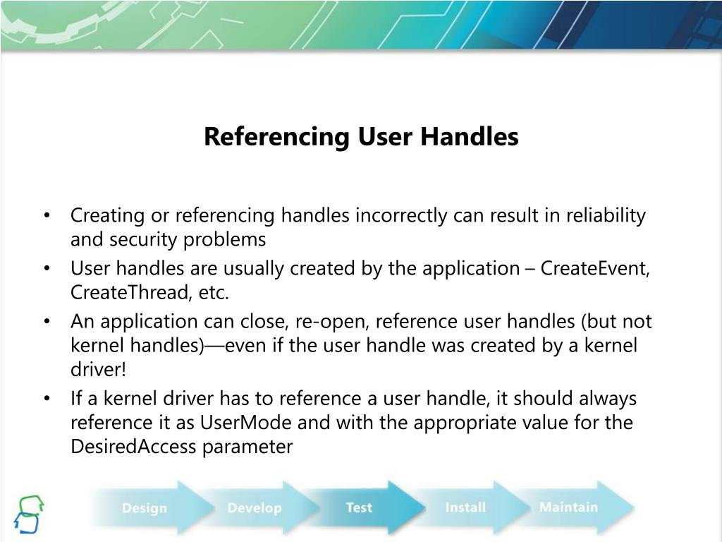 Referencing User Handles