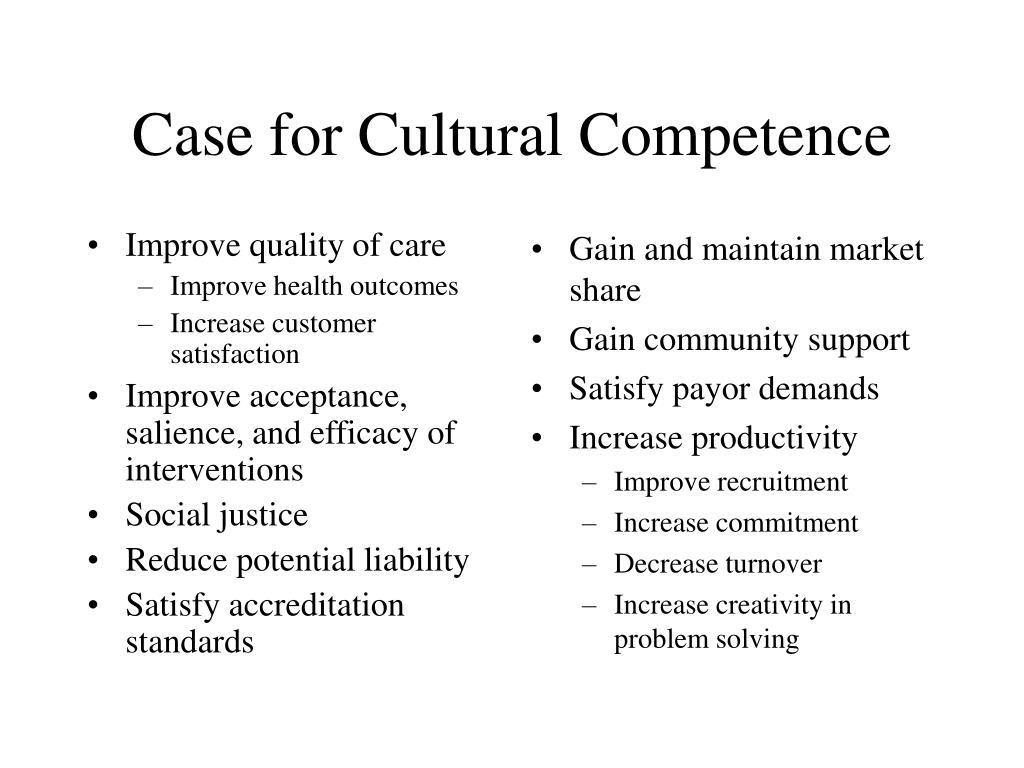 Improve quality of care