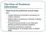 the flow of technical information