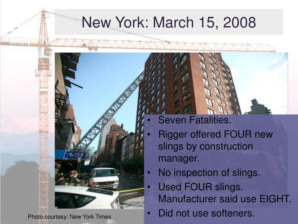 New York: March 15, 2008