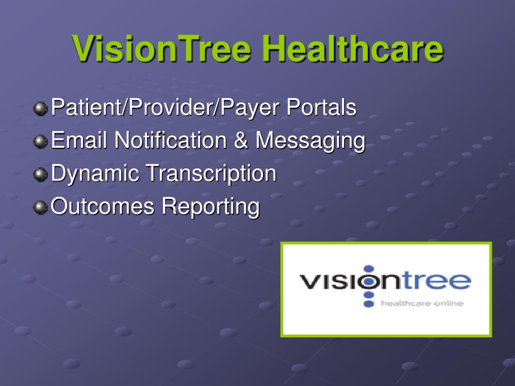 VisionTree Healthcare