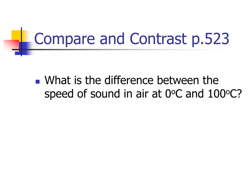 Does Sound Travel Faster In Hot Or Cold Air