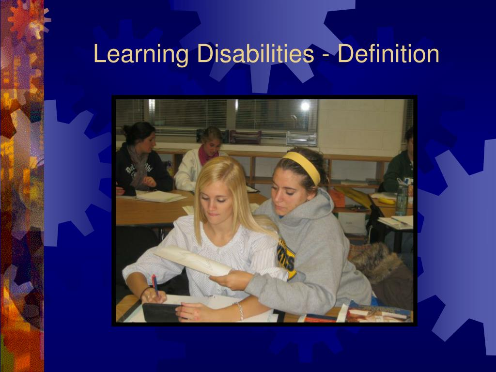 learning disabilities definition l.
