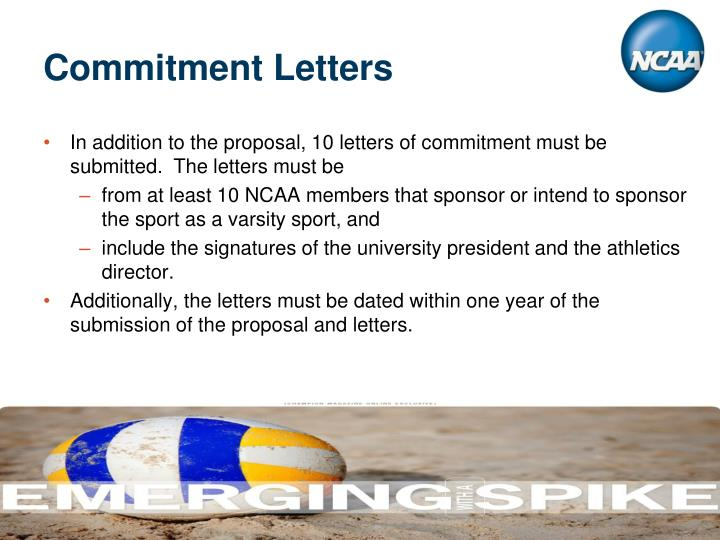 Commitment Letters