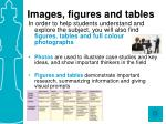 images figures and tables