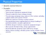 physical properties5