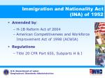 immigration and nationality act ina of 1952