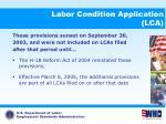 labor condition application lca14