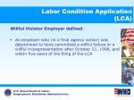 labor condition application lca16