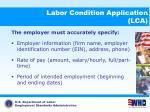 labor condition application lca8