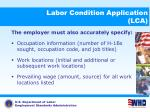 labor condition application lca9