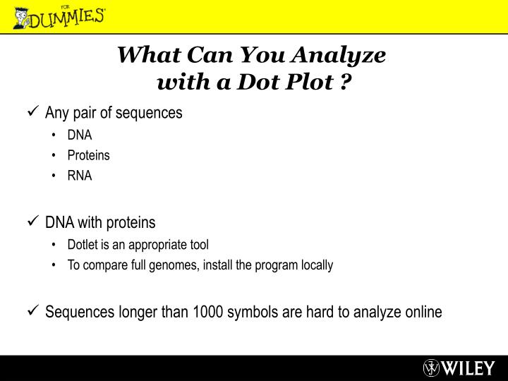 What Can You Analyze