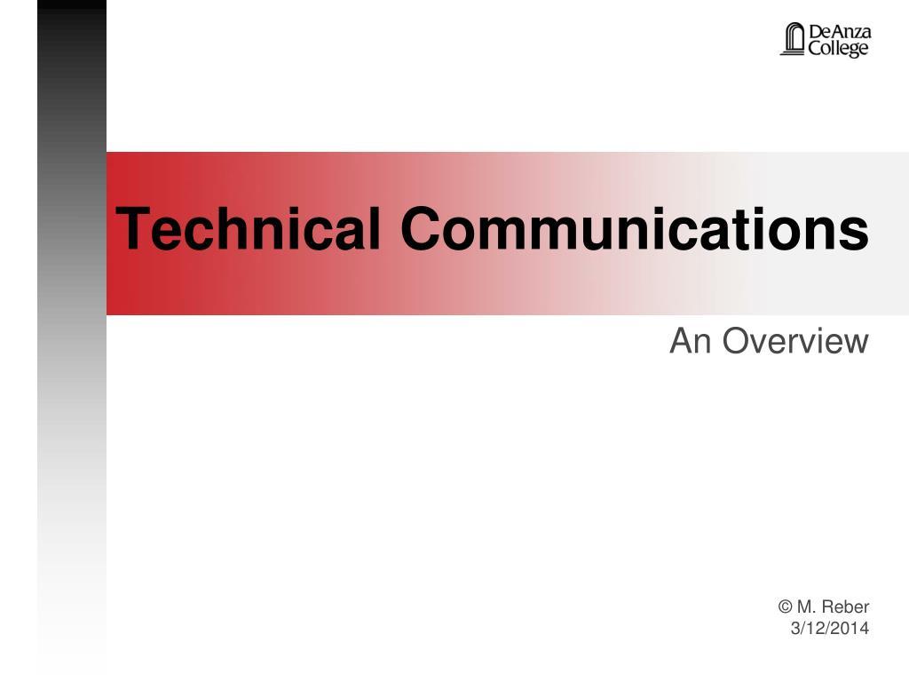 technical communications l.