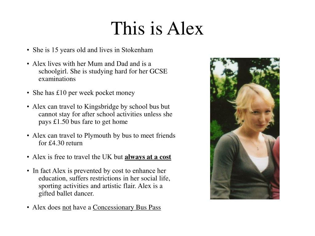 This is Alex