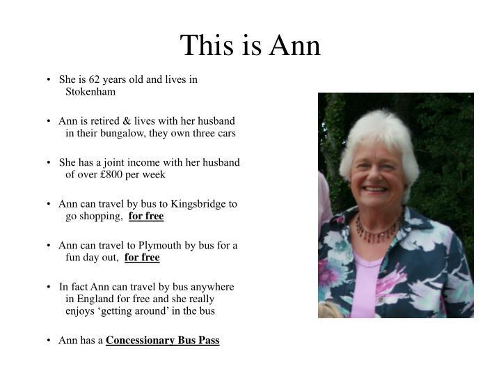 This is ann