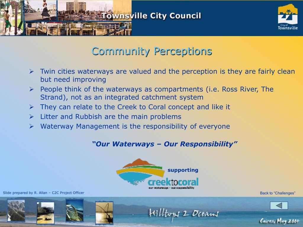 Twin cities waterways are valued and the perception is they are fairly clean but need improving