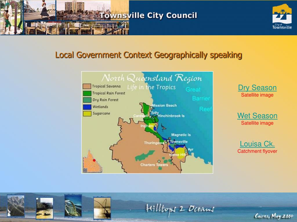 Local Government Context Geographically speaking