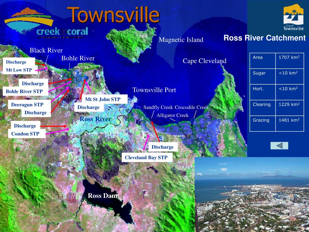 Townsville Map with STP