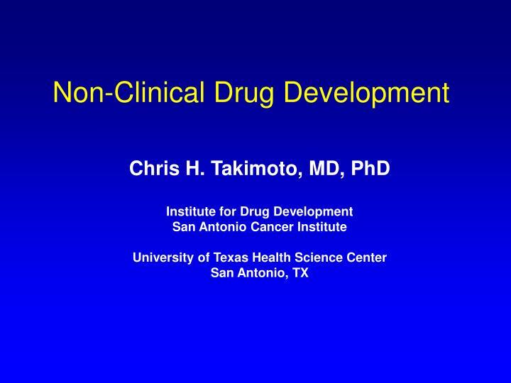 non clinical drug development n.
