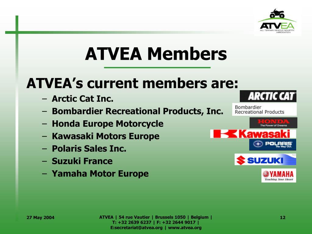 ATVEA Members