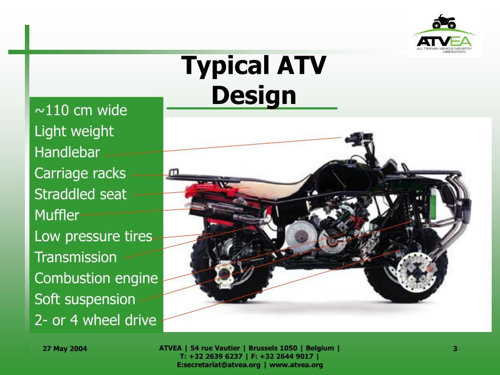 Typical ATV Design