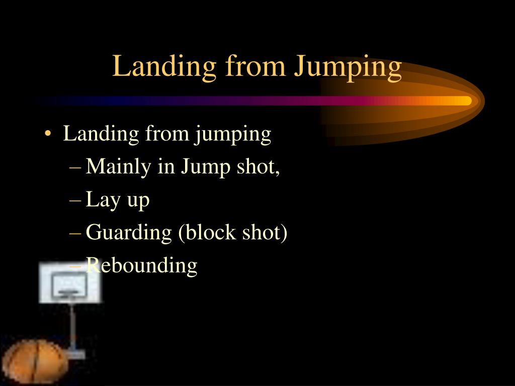 Landing from Jumping