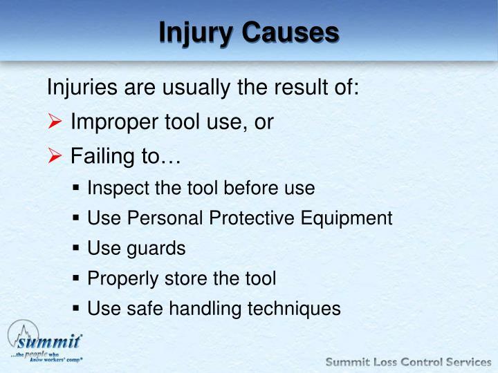Injury Causes