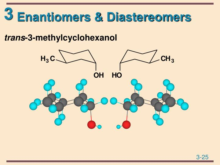 Enantiomers & Diastereomers