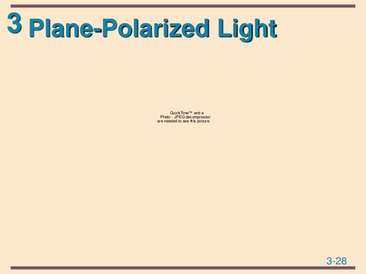 Plane-Polarized Light