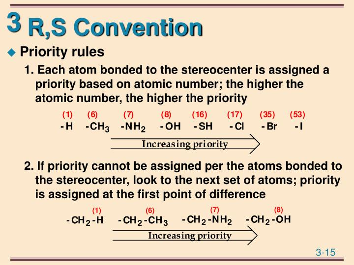 R,S Convention