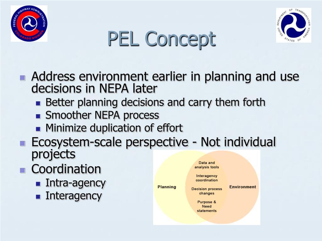 PEL Concept
