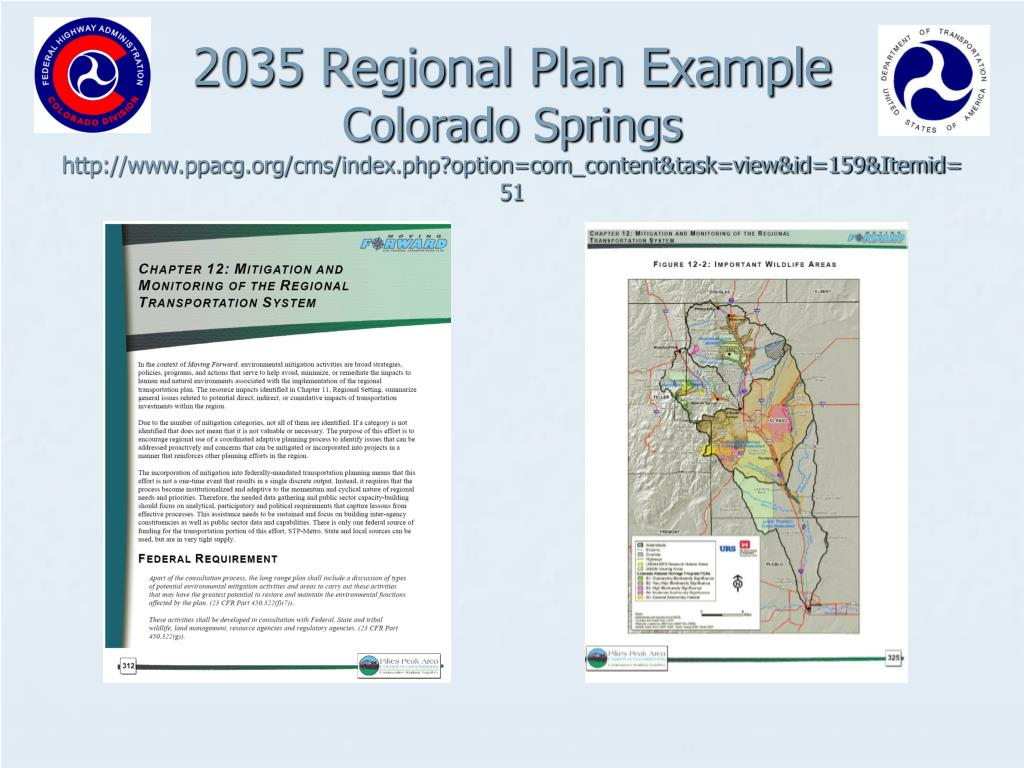 2035 Regional Plan Example