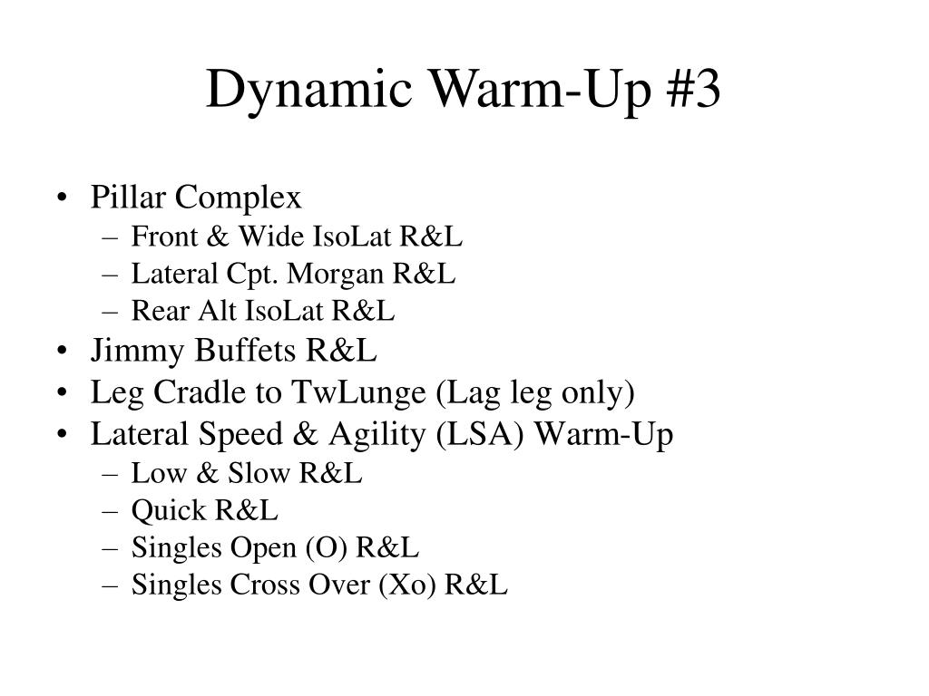 Dynamic Warm-Up #3