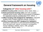 general framework on housing12