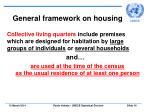 general framework on housing16