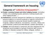 general framework on housing17
