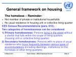 general framework on housing21