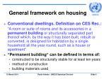 general framework on housing6