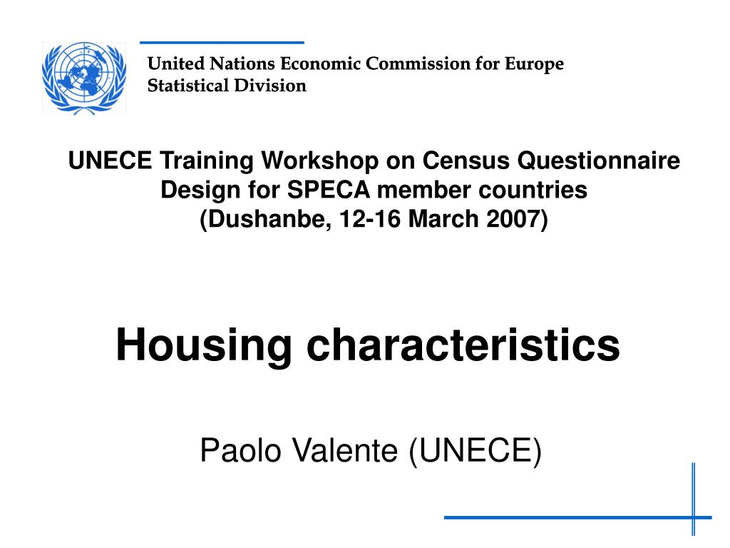 housing characteristics l.